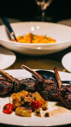 Fine Dining, Restaurant Bar, Ethnic Recipes, Food, Essen, Meals, Yemek, Eten