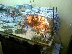 Forum del Presepio Elettronico Multimediale (Il primo e unico) Paper Crafts, Diy Crafts, Nativity, Pandora, Christmas, Design, Art, Cave, Nativity Sets