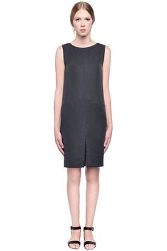 Anders Dress by Valerie Dumaine. Tercel dress with zipper in back.