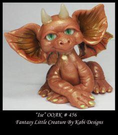 Dragon Fantasy Miniature Dollhouse Art Doll Polymer Clay CDHM OOAK Iadr Ise | eBay