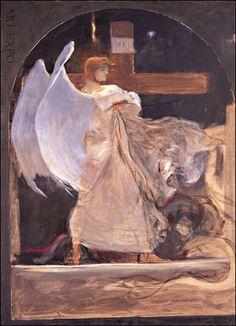 """"""" Archangel """", by Nikolaos Gyzis"""
