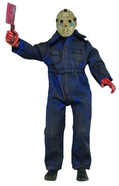 #FridayThe13th Part 5 Jason (Roy) Retro Style Cloth 8-Inch Action Figure - Midtown Comics