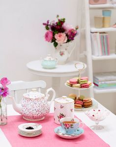 ShabbyPassion: The perfect vintage teatime! - History - Part 1