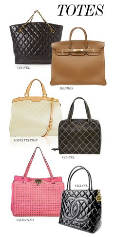 THE BEST OF THE BAGS // TOTES