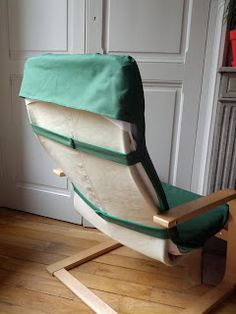 Chaise Diy, Chaise Ikea, Ikea Armchair, Furniture Slipcovers, Slipcovers For Chairs, Chair Cushions, Ikea Poang Chair, Diy Chair, Furniture Makeover