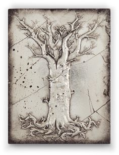 "#S191 #TreeOfLife-Evolution #Silver ""Winter is the season to dream the beginning. Like this great tree we are all rooted in the earth. Ever changing, ever growing."""