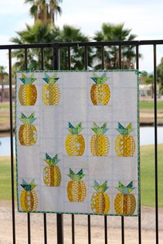 Mini Pineapples – Sew Kind of Wonderful