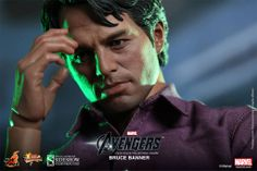 The Avengers Movie Masterpiece Action Figure 1/6 Bruce Banner - The Movie Store