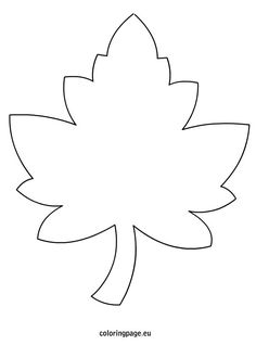 Maple Leaf Template. Lots of Ideas: relief paint a table cloth/ decorate a…