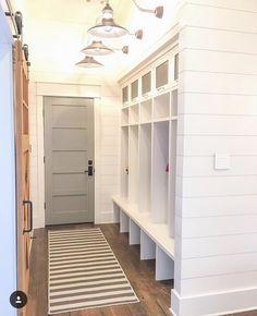 Mudroom locker style