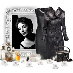 Elizabeth Taylor in Black Leather: Always Fabulous, created by jackie-eschbach on Polyvore