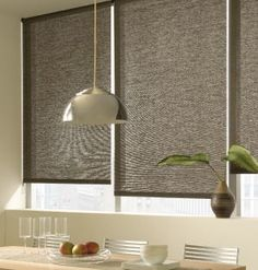 Blinds, shades and window treatments article in Atlanta Home Improvement Magazine. The Shade Store roller shades pictured. House Blinds, Blinds For Windows, Curtains With Blinds, Windows And Doors, Window Blinds, Roller Shades, Roller Blinds, Window Coverings, Window Treatments