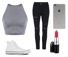 """Untitled #71"" by paigeoctober on Polyvore featuring Converse, MAC Cosmetics and Incase"