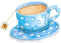 Teacup by artist Susan Branch.