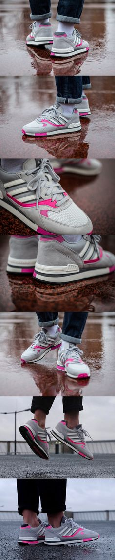 #Adidas #Quesence OG 'Grey Two/Shock #Pink'