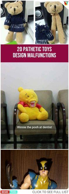 20 Hilariously Pathetic Toys Design Malfunctions #kids #toys #creepy #epic #epicfail #humour #photos #funnypictures #designfail #bemethis
