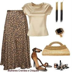 New Skirt Outfits Brown Tans Ideas Casual Work Outfits, Classy Outfits, Chic Outfits, Fashion Outfits, Womens Fashion, Leopard Print Outfits, Animal Print Outfits, Animal Print Fashion, Fashion Prints