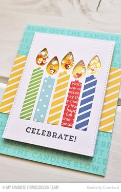 For the Love of Paper: MFT Stamps Make A Wish Card Kit now available! More