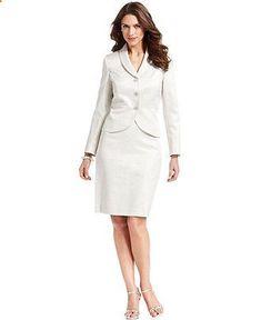 6c3240a4 Women's Suits & Suit Separates - #womenssuits&suitseparates - Kasper  Suit, Shawl