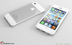 This iPhone 5 mock up is just gorgeous