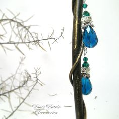 Drop earrings Dangle earrings Sky blue earrings by AnnieKattie Blue Earrings, Turquoise Necklace, Dangle Earrings, Annie, Dangles, Etsy Shop, Sky, Group, Trending Outfits