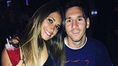 Tierno y emotivo mensaje de Antonella Rocuzzo a Lionel Messi en las redes sociales - Infobae.com