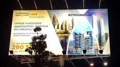 Billboard apartemen West Vista Jakarta Barat