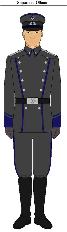 Separatist Officer by MarcusStarkiller