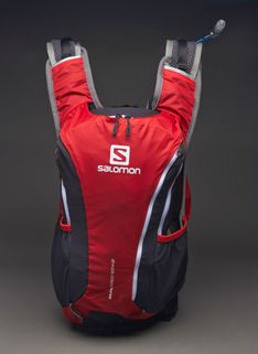 View and buy the Salomon Skin Pro Set Bag - Bright Red/Asphalt Salomon None at Pro:Direct RUNNING.