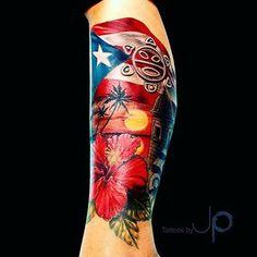 Boricua tattoo! fuego!!!  Like us on Facebook............... www.facebook.com/ilovebeingpuertorican  @esa_d_puertorro @puertoroc_puro #puertorico #boricua #isladelencanto #puertorican #ilovebeingpuertorican #Coqui #Coquito #HastaLaMuerte #BoricuasUnited #Taino