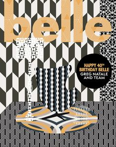 Guests create special mag covers for Belle's 40th issue
