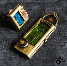 Steampunk jewelry Industrial jewelry Steampunk ring Steampunk pendant Steampunk necklace Jewelry box Jewelry set Abstract jewelry