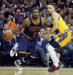 Kyrie Irving against Golden State
