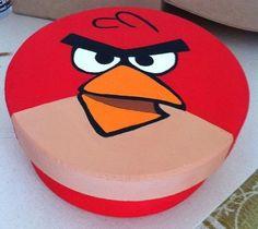 Caixa MDF Angry Birds