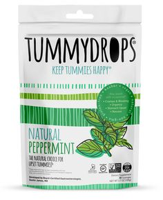 Natural Peppermint Tummydrops (Resealable Bag of 33 Individually Wrapped Drops) Certified Oregon Tilth Made with Organic Ingredients, Non-GMO Project, GFCO Gluten-Free, and Kof-K Kosher Natural Morning Sickness Remedies, Morning Sickness During Pregnancy, Trimesters Of Pregnancy, Early Pregnancy, Pregnancy Nausea, Pregnancy Style, Pregnancy Fashion, Pregnancy Outfits, Maternity Fashion