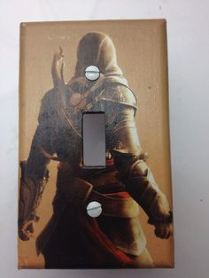 Assasin's Creed Light Switch Plate Cover gamer Room Decor by ComicRecycled, $7.99