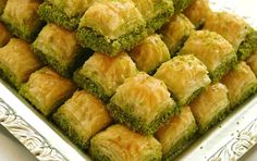 Desserts are the showcase of Turkish cuisine. Turkish cuisine is has a very wide range of desserts from puddings to sophisticated phyllo dough wo Turkish Sweets, Greek Sweets, Greek Desserts, Ramadan Desserts, Turkish Recipes, Greek Recipes, Ethnic Recipes, Istanbul Food, Turkish Cuisine
