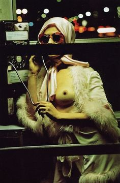 Night Call' by  Helmut Newton