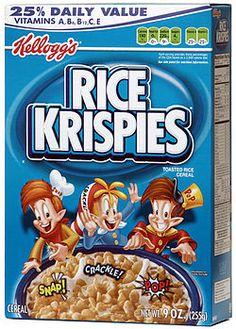 Rice Krispies, Snap, Crackle, Pop, celebrity news, satire, humor
