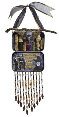☆ Something Wicked Hanging Shrine :¦: Etsy Shop: LisaVollrath ☆