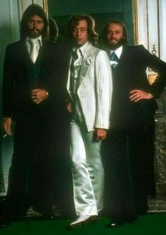 """""""Dressed to kill"""" Lady killers that is....Barry, Robin & Maurice"""