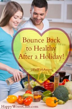 Feeling heavy and bloated after a holiday? Try these proven tips to help you bounce back to healthy after a holiday.