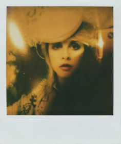 These Never-Before-Seen Self Portraits That Prove Stevie Nicks Is Not Only One of Sexy Women of Rock But Also the Queen of Selfies