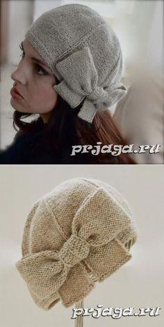 Beret of \'Beau Cloche\' spokes Crochet Beanie, Knitted Hats, Knit Crochet, Crochet Hats, Knitting Patterns, Sewing Patterns, Crochet Patterns, Turbans, Sock Yarn