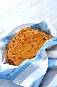Sweet potato tortillas! Vegan and oil free.