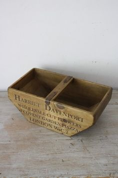 how to make a trug
