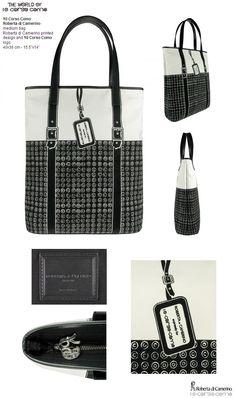 """10 Corso Como  Roberta di Camerino-medium bag 40x36 cm - 15.5""""x14""""  € 240,00"""