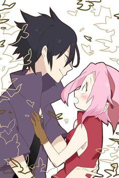Tags: Anime, Fanart, NARUTO, Haruno Sakura, Uchiha Sasuke