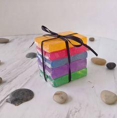 Mini Guest Soaps Soap Sampler ~ Mini Soap Samples Guest Bath Soap Sample Pack Clear Soap Bundle Soaps Colored Samples Soaps Sample Pack Soap by CoconutSpiceSkincare on Etsy