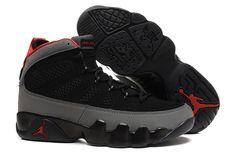 free shipping 6c121 7b287 Air Jordan 9 Suede Black Grey True Red. Cheap Jordan ShoesCheap ...